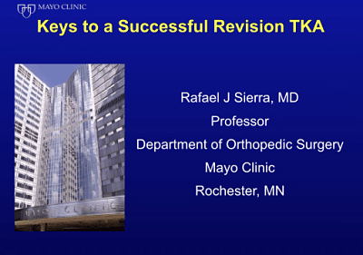 Essential Surgical Steps for Successful Revision TKA   International